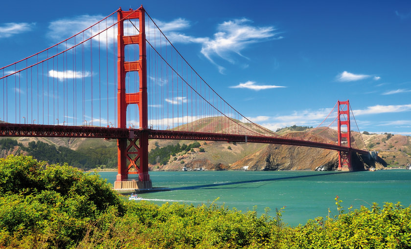 Golden Gate Brücke in San Francisco