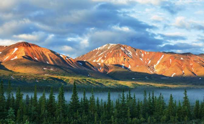 Nationales Denali Park in Alaska