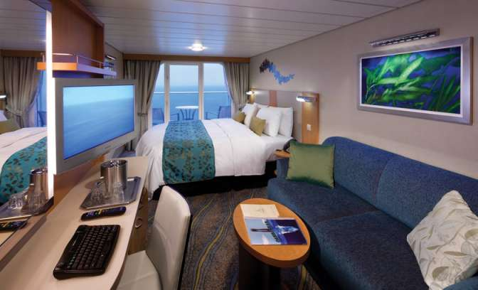 Balkonkabinen Allure of the Seas von Royal Caribbean