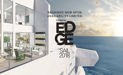 Celebrity Edge. verwacht 2018